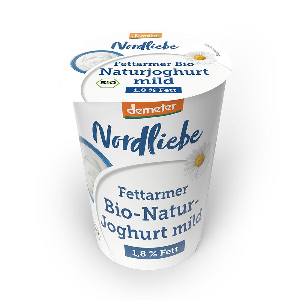 Fettarmer Bio-Naturjoghurt mild